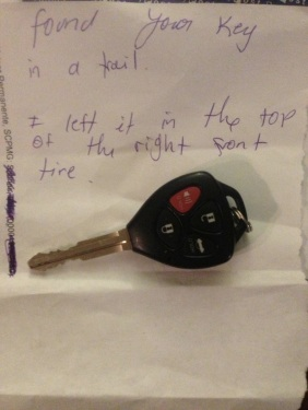 car key found