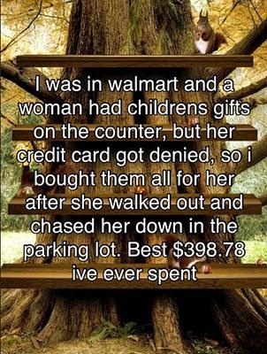 walmart kindness