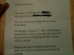 End of Ramadan Invitation