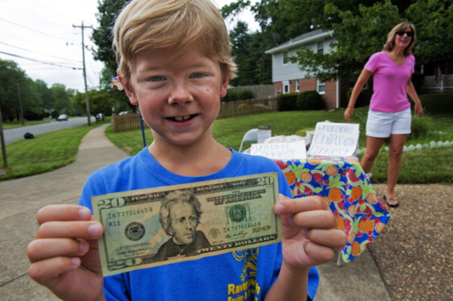 Johnny Karlinchak, 8, Saves Neighbor's Damaged Home With Lemonade Fundraiser