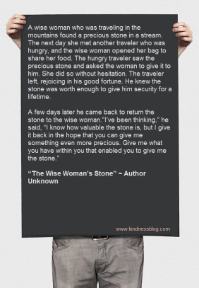 The Wise Woman's Stone