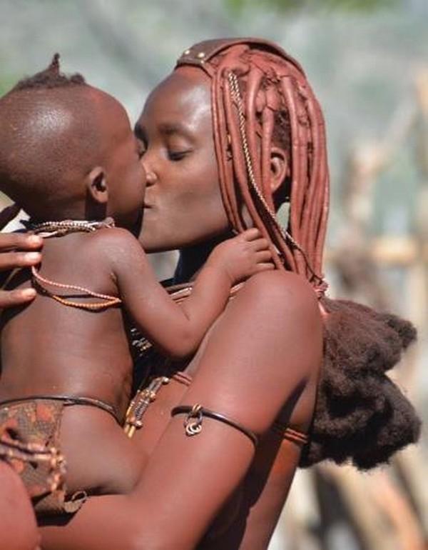 Himba Motherly Love