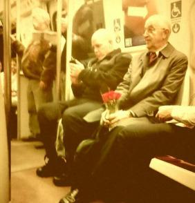 47 years of marriage & he still buys her flowers every week.