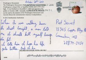 Such a Powerful Response to Verbal Abuse - post secret - kindness