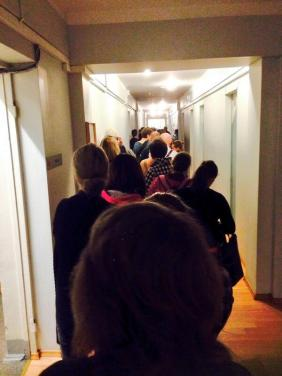 supermarket roof collapses in Latvia - blood donors queue to help