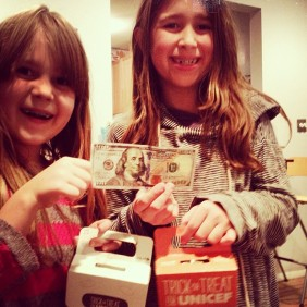 cknutsen99 Brooklyn rules. My daughters went out with UNICEF boxes tonight, came back with a $100 bill. #kindnessofstrangers