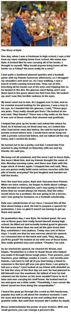 the story of kyle