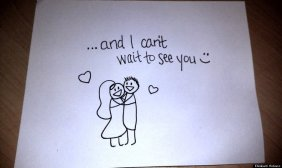 Wife's Hand-Drawn Comics Bring Sick Husband To Tears 12