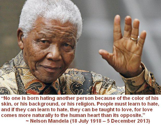 Nelson Mandela Rip Kindness Blog