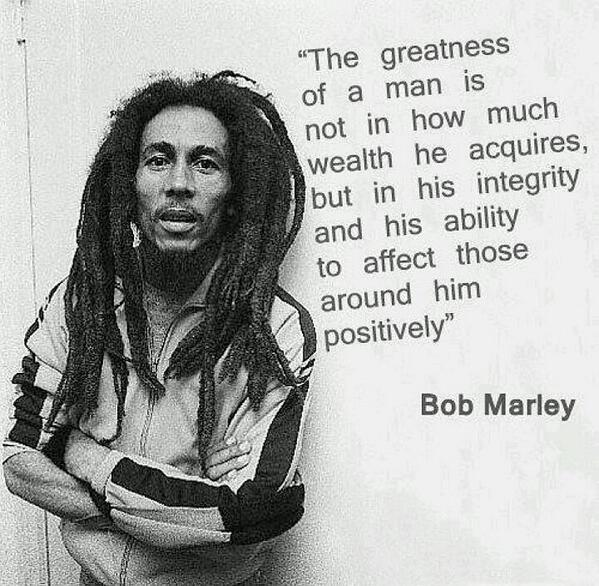 Bob Marley Quotation