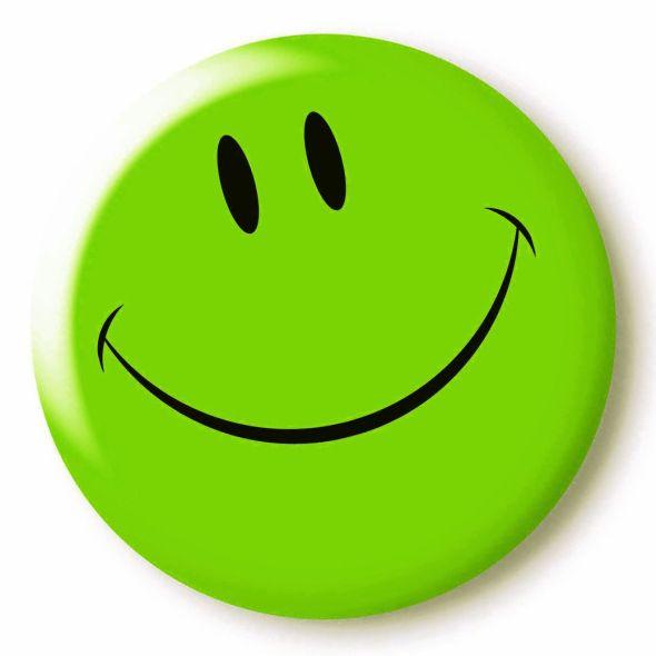 green smiley