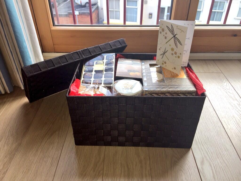 hamper as a thank you for kindness