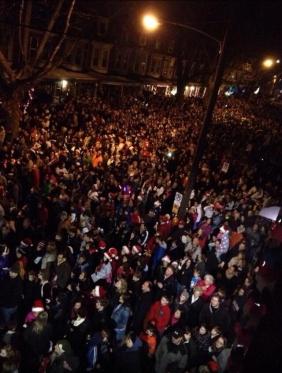 Delaney Brown crowds