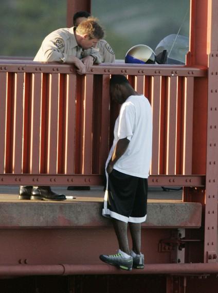 Talking him off the ledge