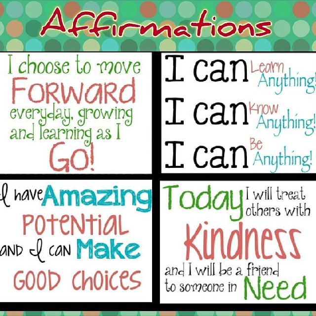 Positive Affirmations for 2014 | Kindness Blog