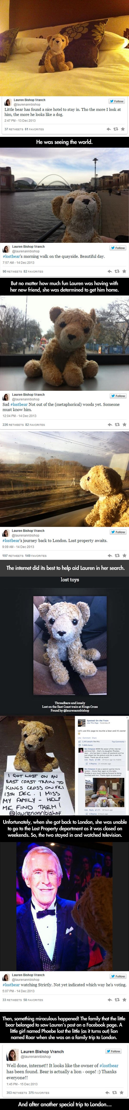 Little Girl Loses Her Stuffed Animal, Then The Internet Does Something Awesome