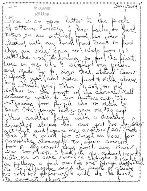 scott murray's letter