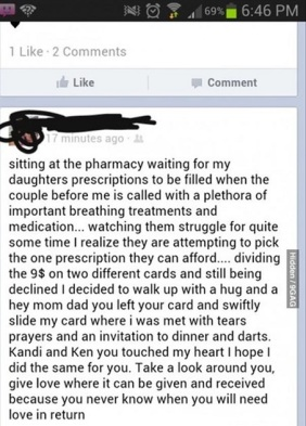 faith in humanity restored at the pharmacy