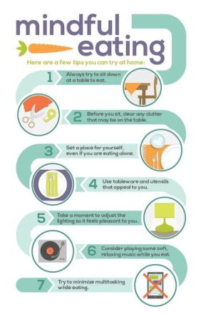 mindful eating infographic