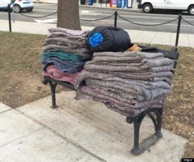 blankets for the homeless
