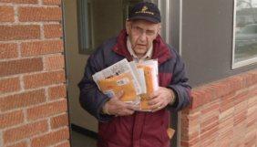 Harold Krueger, a three-time war veteran