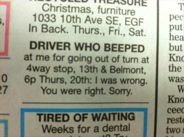 driver who beeped