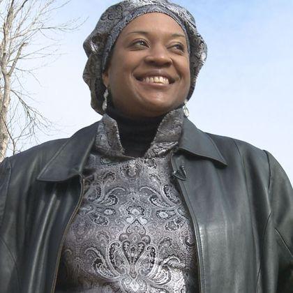 Khadijah Muhammad is a waitress in Knoxville, Tenn