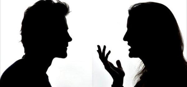 conversation silhouette