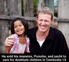 Scott Neeson, former head of 20th Century Fox International left Hollywood to save children scavenging in Cambodia's garbage dumps