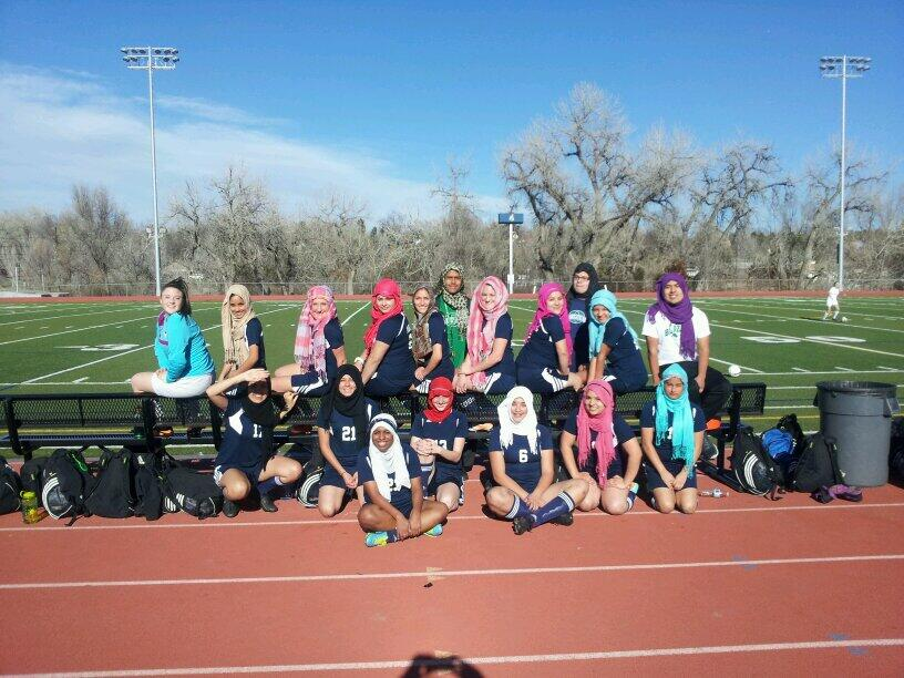 After watching their teammate get turned away due in part to her religious beliefs, the rest of the Overland High School girls soccer team in Aurora, Colo., displayed the true meaning of unity.
