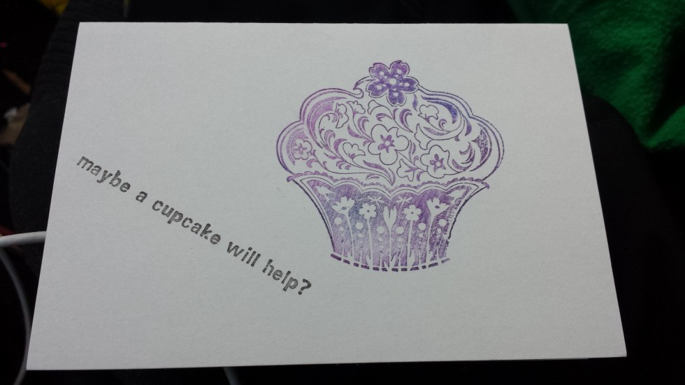 cupcakes note