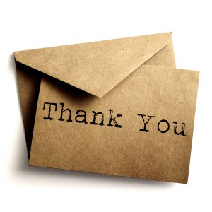 The Thank You Note