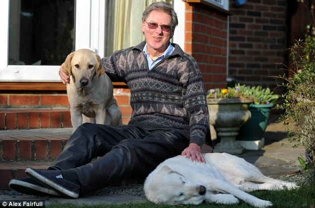 Popular: The two dogs have attracted a large number of admirers during their tours of schools and community groups in Suffolk