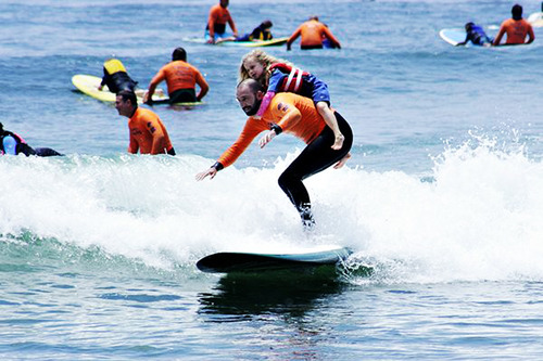 surfing kids with autism