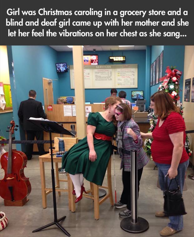 tumblr_myscv4blind and deaf girl feels the vibrations of a singergmyN1s8aoo3o4_1280