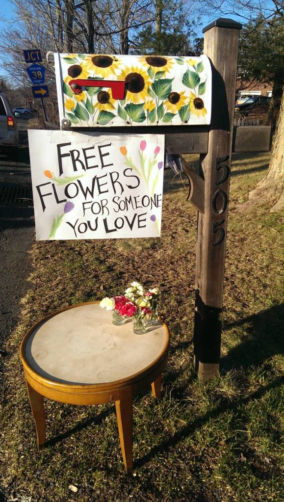 free flowers for the one you love - kindness
