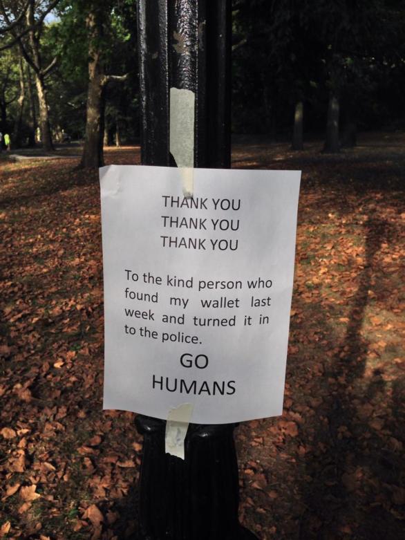 go humans - kindness