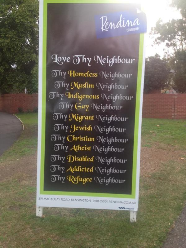 Love All Thy Neighbours