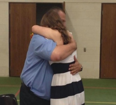Man Who Saved Abandoned Newborn Baby Gets Invited To Her High School Graduation 18 Years Later