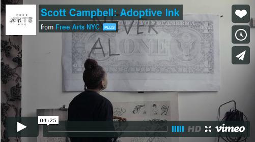 Tattoo artist Scott Campbell
