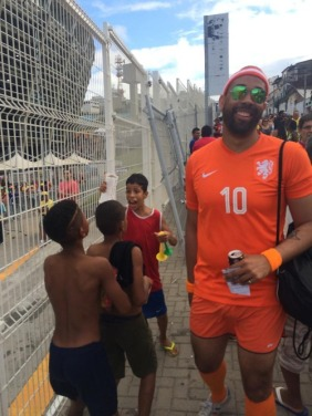 Spain-Holland game kindness