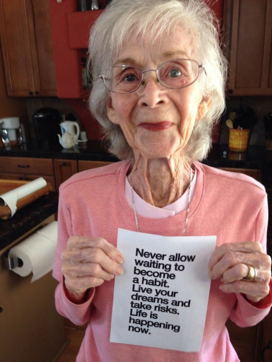 My great grandma just turned 97. She wanted me to print this out for her.