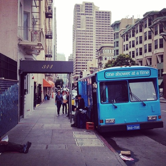 Group Turns Bus Into Bathroom, Provides Homeless People With Hot Showers And Sense Of Dignity