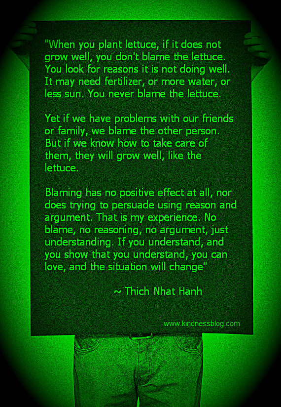 Lesson of The Lettuce - thich nhat hanh
