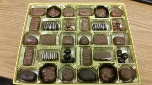 Picture of a Large Box of Chocolates