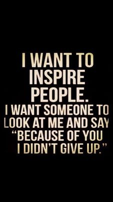 Quote About Inspiring Others