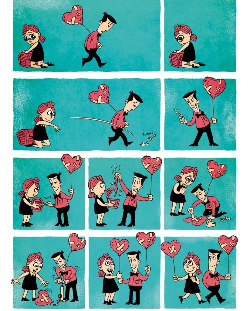 love and vulnerability - zen pecnils