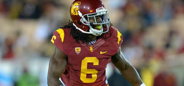 Josh Shaw, a senior cornerback and a captain on the USC Trojans