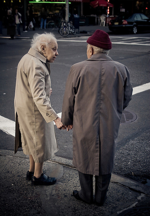 old couple's loving kindness