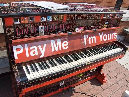 play me i m yours kindness blog. Black Bedroom Furniture Sets. Home Design Ideas